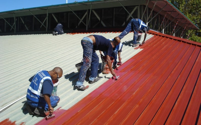Roof Painters in Durbanville - Roof Painting Process