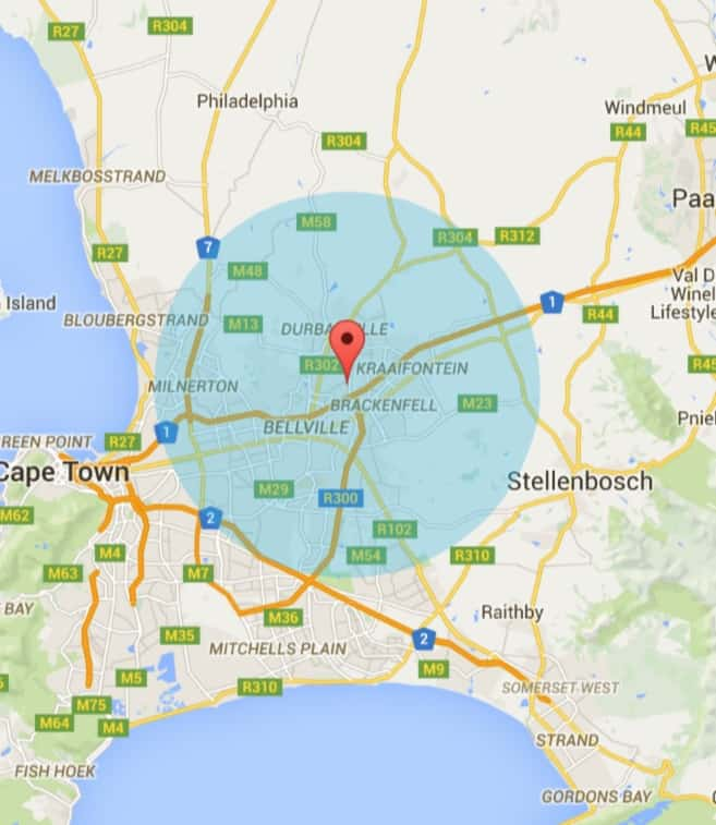Durbanville Painters Service Area
