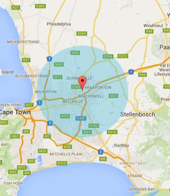 Durbanville Painters Service Area